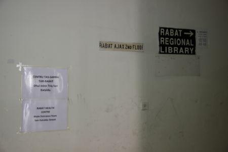 Über Krankenstation und Bücherei ist das Vereinsheim