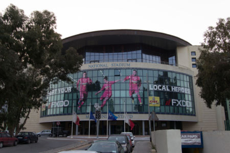 Haupteingang Millenium Stadium