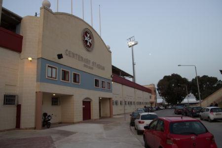 Haupteingang Centenary Stadium
