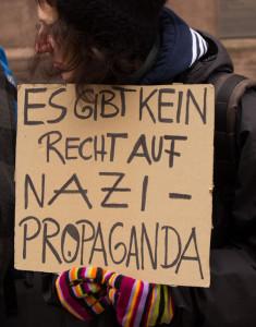 Es gibt kein Recht auf Nazi Propaganda