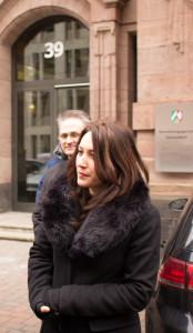 Kundgebung vor Verwaltungsgericht