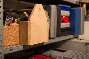 Werkzeuge im Keller