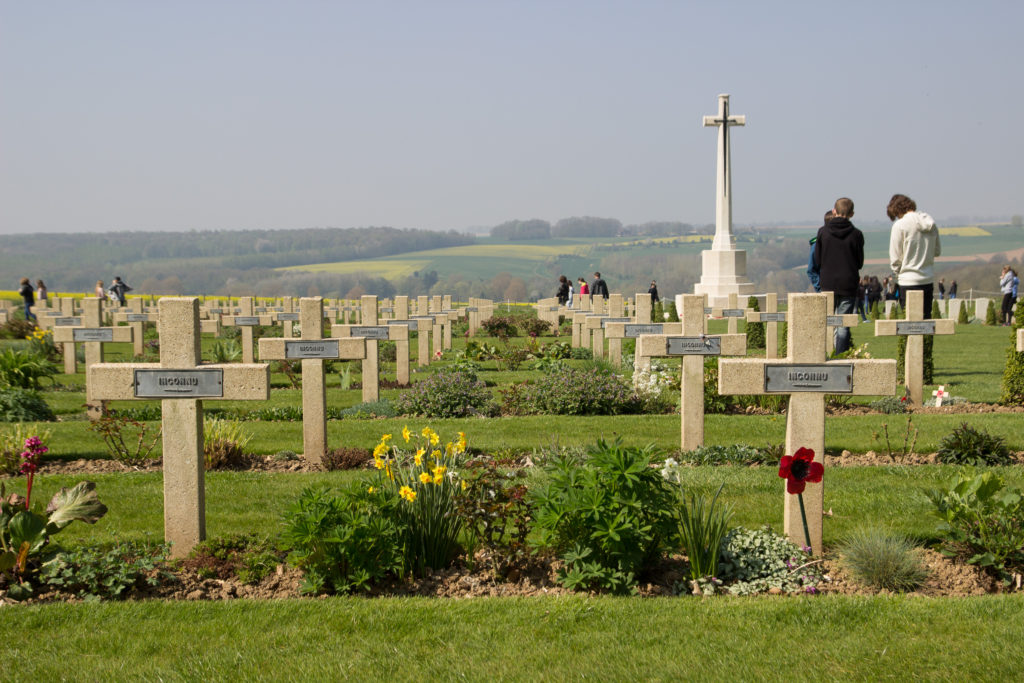 Gräber unbekannter französischer Soldaten